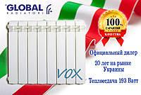 Алюминиевый радиатор Global VOX R 500/100 (Италия), фото 1