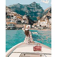 """Картина по номерам - Люди """"Путешествие на яхте"""" 40*50см"""