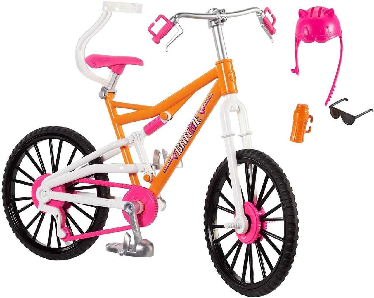 Кукла Барби горный велосипед Barbie Mountain Bike