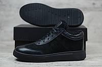 Мужские зимние ботинки Philipp Plein натур кожа  (Реплика)