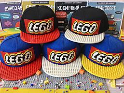 Детская кепка-конструктор для Lego