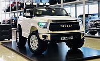 Детский электромобиль джип TOYOTA TUNDRA JJ2255EL цвет белый, черный