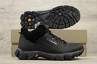 Мужские зимние ботинки Columbia натур кожа (Реплика)