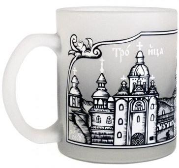 Чашка матовая сувенир Печерская лавра