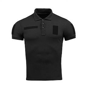 M-Tac поло тактическое Polyester Black XS