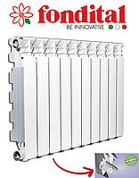 Алюмінієвий радіатор Fondital EXCLUSIVO 350/100 B4 (Італія), фото 1