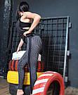 Спортивные лосины женские леггинсы для спорта фитнеса №29 (M), фото 7