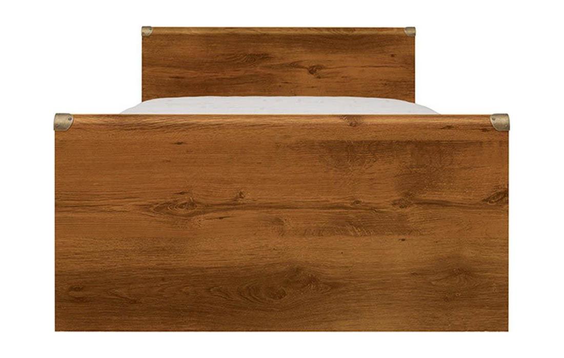 Ліжко Індіана JLOZ_90 (каркас) дуб шуттер