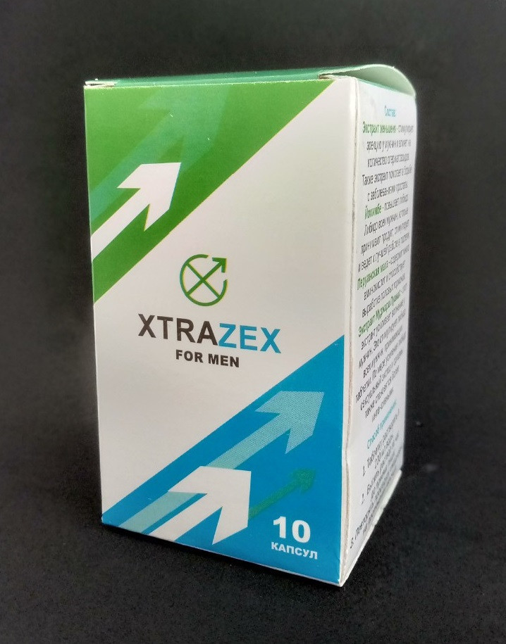 Xtrazex - шипучие таблетки для потенции (Экстразекс)