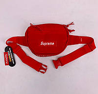 Поясна сумка Supreme red