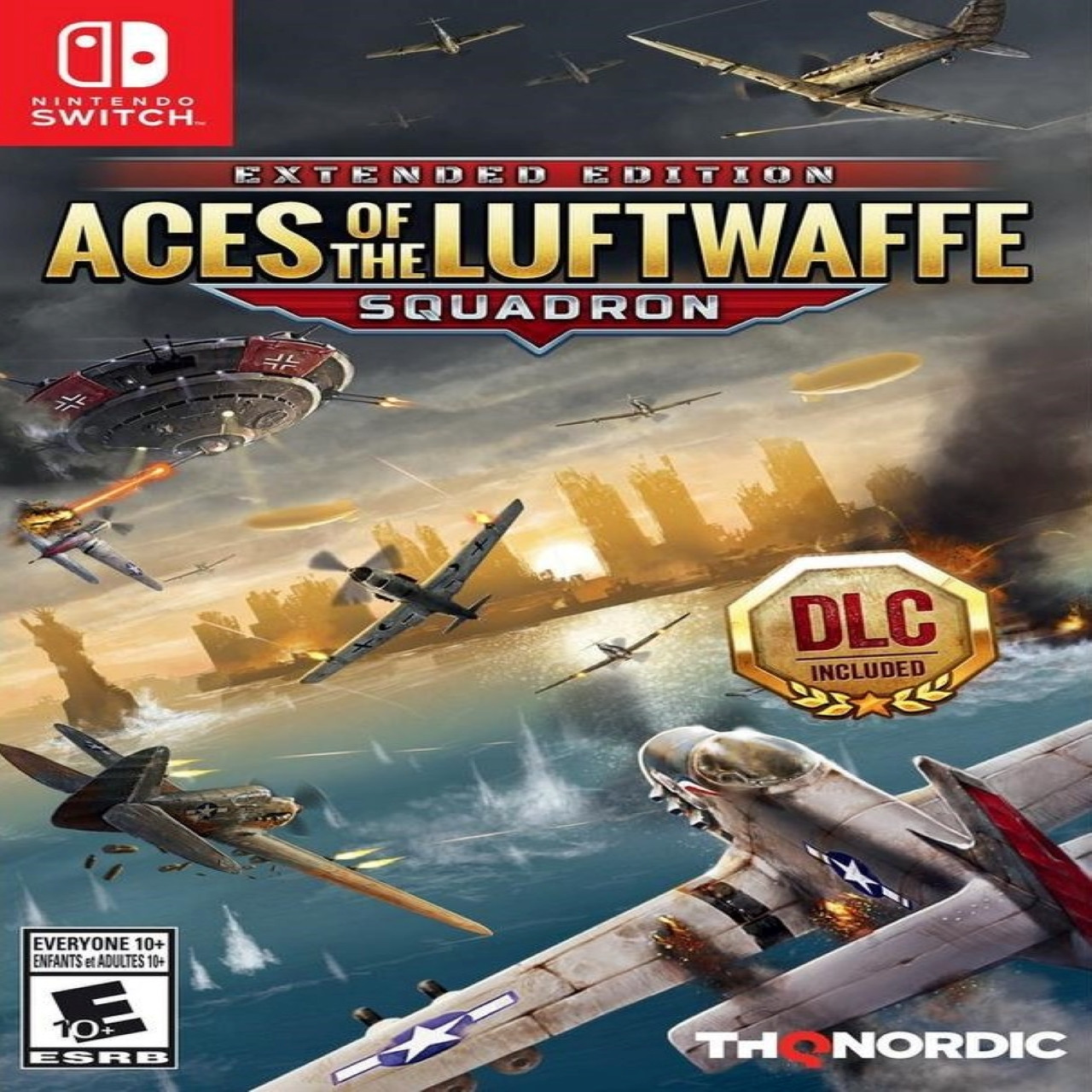 Aces of the Luftwaffe - Squadron Extended Edition  ENG Nintendo Switch (NEW)