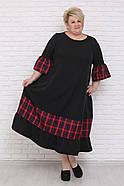 / Размер 48-72 / Женское платье Смайл / батальные размеры, фото 2