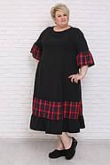 / Размер 48-72 / Женское платье Смайл / батальные размеры, фото 3
