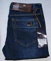 Мужские джинсы BARON,W33 L34 Стрейч.Тёмно-синие.Турция.BR9202.