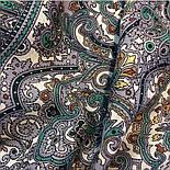 Русское золото 529-5, павлопосадский платок шерстяной  с шелковой бахромой, фото 3