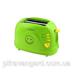 Тостер 750 Вт Esperanza EKT003 Smiley green