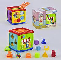 Развивающая игрушка сортер Куб логический