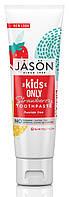 Детская зубная паста клубничная 119 грамм, Jason, США