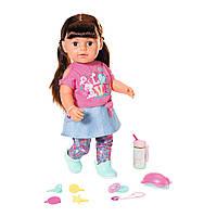 Кукла Baby Born Стильная сестренка 827185 Zapf Creation Оригинал