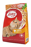 """Мяу!"" сухой корм для взрослых кошек хрустящая курочка, 0.4 кг"