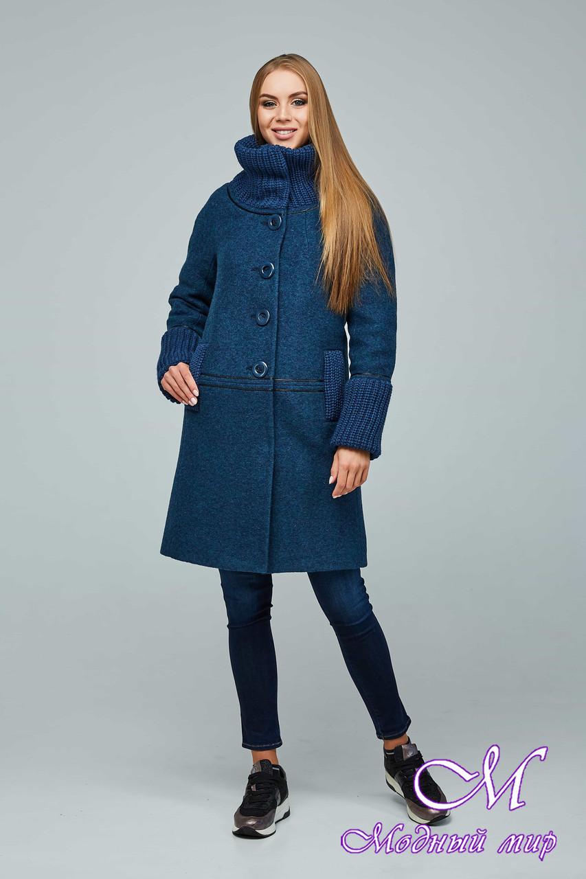 Женское стильное осеннее пальто (р. 44-54) арт. 1066 Тон 108