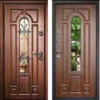 Входные двери. Шпонированные двери и другие варианты отделки.