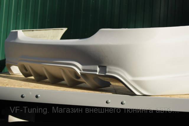 Задний бампер Wald Mercedes W221 фото