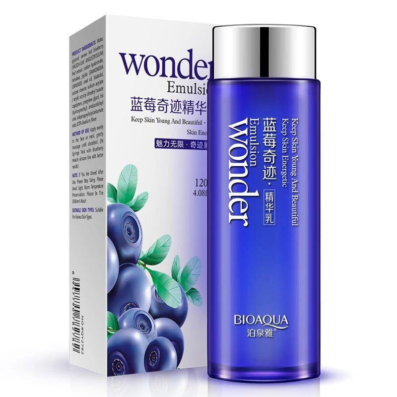 Эмульсия для лица с экстрактом черники BIOAQUA Wonder Emulsion