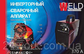 Инверторный сварочный аппарат Weld IWM MMA - 370N (в кейсе)
