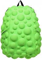 Рюкзак MadPax Bubble Full цвет зеленый неон