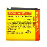 Аккумулятор Avalanche P Samsung F700 (750mAh)