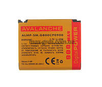 Аккумулятор Avalanche P Samsung G800/S5230 (900mAh)