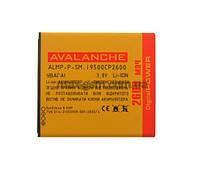 Аккумулятор Avalanche P Samsung i9500 (2600mAh) (тех. упаковка)
