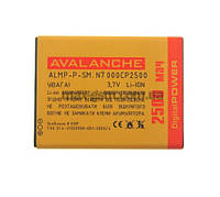 Аккумулятор Avalanche P Samsung N7000 (2500mAh) (тех. упаковка)
