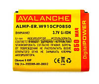 Аккумулятор Avalanche P Sony Ericsson BST-39 (W910, 850mAh)