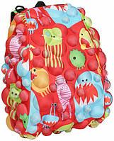 Рюкзак MadPax Bubble Half цвет красный мульти