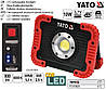Прожектор YATO Польша діодний переносной акумулятор USB YT-81820