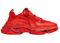 Кроссовки Balenciaga Triple S Triple Red