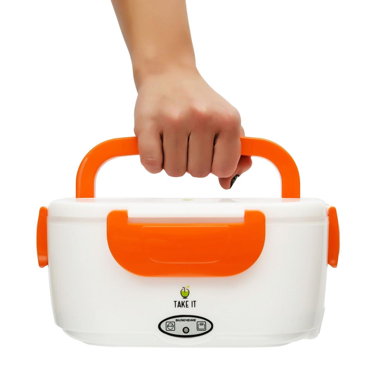 Ланч бокс с подогревом от сети 220V Electric lunch box Контейнер Для Еды еда ТОП ПРОДАЖ!