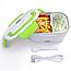Ланч бокс с подогревом от сети 220V Electric lunch box Контейнер Для Еды еда ТОП ПРОДАЖ!, фото 4