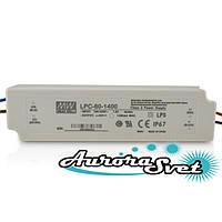 Драйвер светодиода Импульсный источник питания AC/DC, LED-драйвер, 58.8 Вт, 9...42 В, 1.4 А, IP67, фото 1