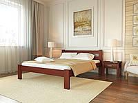 "Ліжко ""Соня""  Бук 160/200 см, яблуня,  Меблі Лев"