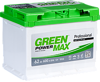 Аккумулятор 62 E(1) GREEN POWER Max (L2) 600, фото 1
