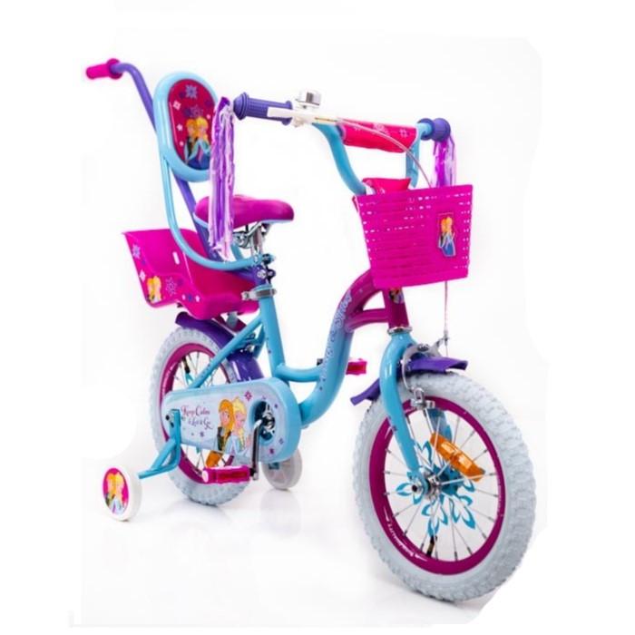 "Велосипед Sigma Frozen 16"" Холодное Сердце"