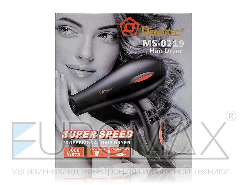 Фен для волос 3000Вт Domotec MS-0219