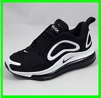 Кроссовки Nike Air Max 720 Чёрные с Белым Найк (размеры: 37,38,39) Видео Обзор