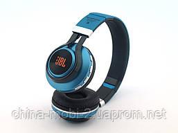 JBL B21 Headset копия, bluetooth наушники с FM MP3, голубые, фото 3