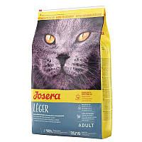 Josera Léger корм для кастрированных/стерилизованных котов, 10 кг