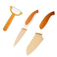 88685 Набор ножей (3 пр.), оранжевый Granchio