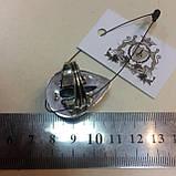 Бирюза красивое кольцо капля с бирюзой в серебре. Кольцо бирюза 18 размер Индия!, фото 8